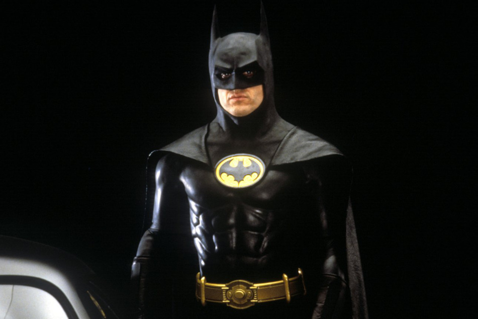 1989: Michael Keaton in the role of Batman for the first time.