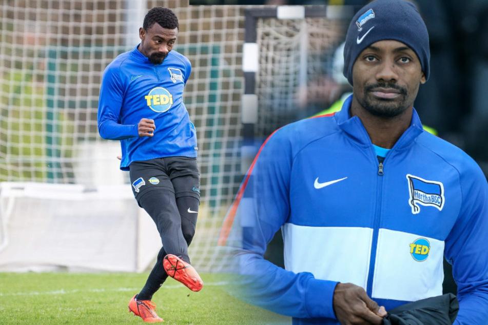 Salomon Kalou ist von Hertha BSC suspendiert worden.