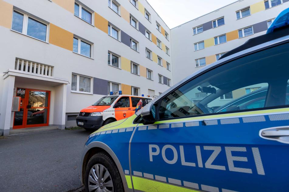 In einer verwahrlosten Wohnung in der Strasse der Deutschen Einheit wurde ein Totes Baby gefunden.