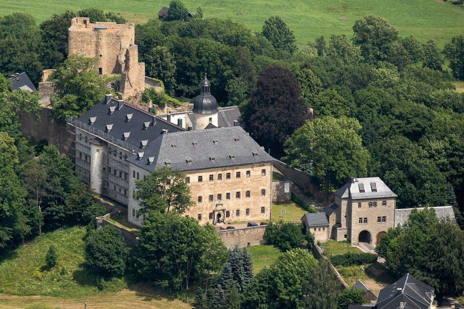 Die Burgruine in Frauenstein gehört zu einem der Highlights dieser Tour.