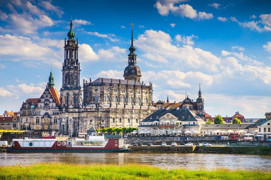 Dresden empfanden die drei Abiturienten als wohlhabende Stadt.