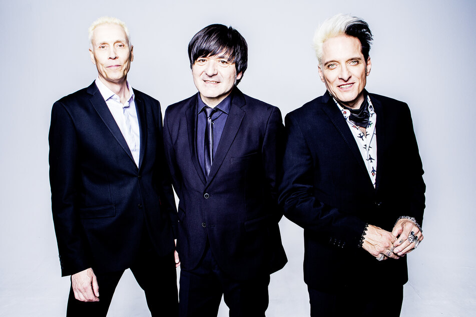 """Die Mitglieder der Band Die Ärzte, Farin Urlaub (v.l.n.r.), Rodrigo Gonzalez und Bela B. Ihr neues Album """"Hell"""" erscheint am 23.10.2020."""