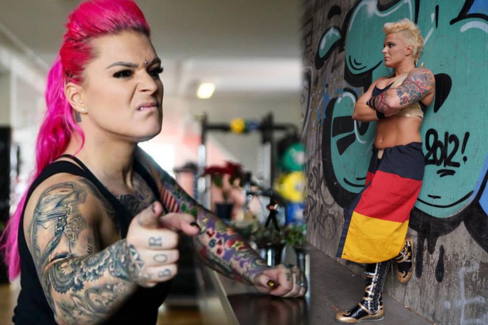 """Wrestlerin Jazzy Gabert: Im Ring """"Alpha Female"""", außerhalb zeigt sie jede Menge Herz"""