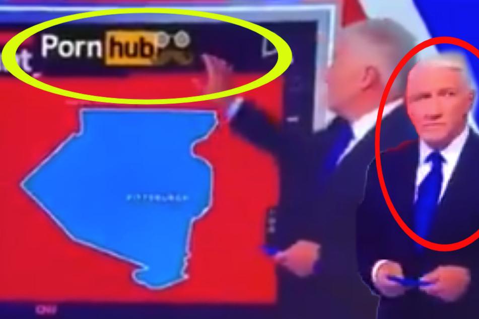 PornHub-Panne im Live-TV? CNN-Sprecher John King und das Schmuddel-Gate, aber was steckt dahinter?