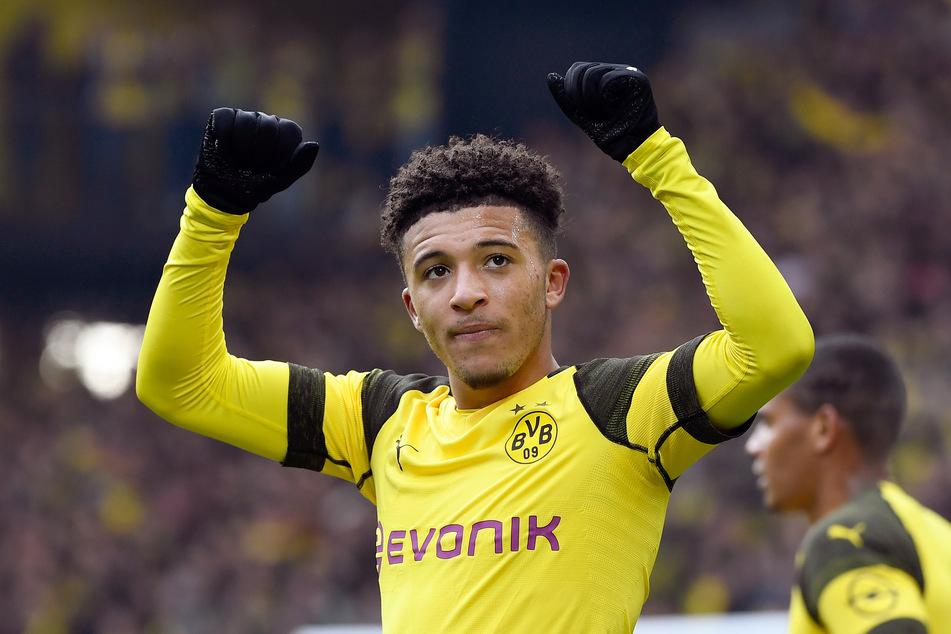 Kam 2017 für knapp 8 Millionen Euro von Manchester City nach Dortmund: Jadon Sancho (20).