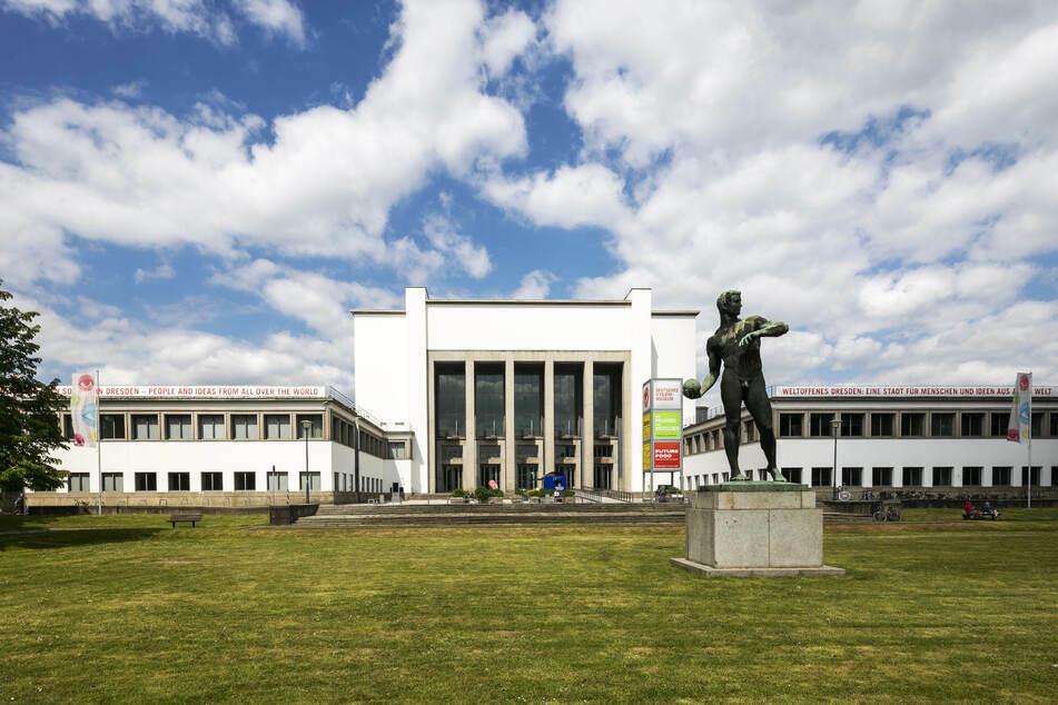 Das Dresdner Hygiene-Museum darf unter strengen Auflagen wieder öffnen.
