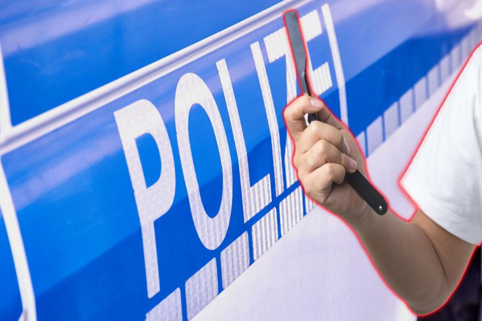 Mit Rasiermesser bedroht: Streit mit Visitenkarten-Verteiler eskaliert