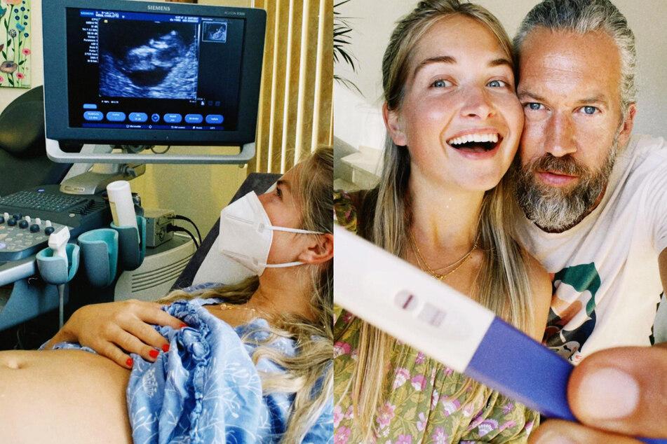 Influencerin Charlotte Weise (28) und ihr Partner Felix Adergold (43) erwarten ihr erstes Kind.