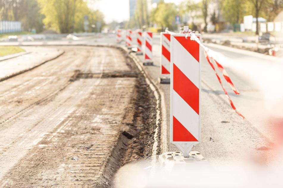 In Leipzig wird ab Montag wieder gebaut und saniert. (Symbolbild)