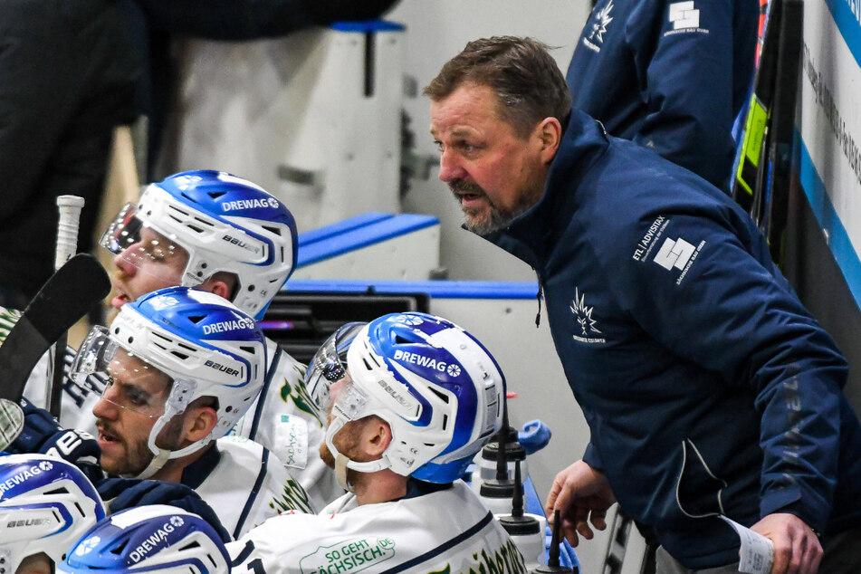 Eislöwen-Coach Andreas Brockmann machte seinen Jungs keinen Vorwurf.