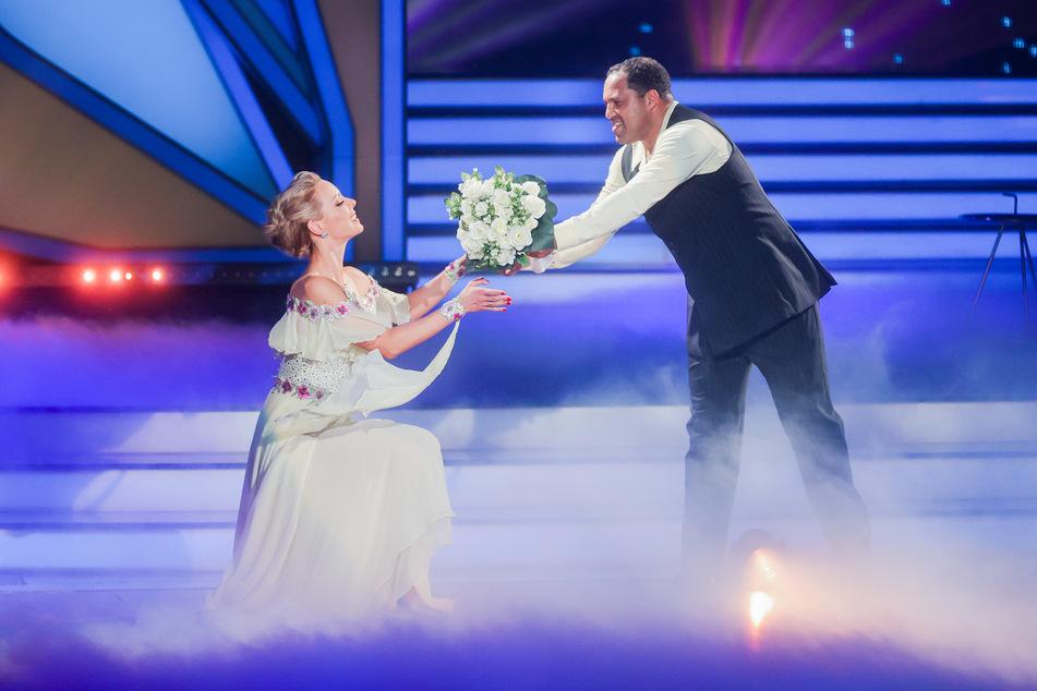Ailton und Isabel Edvardsson tanzen am Freitag einen Cha Cha Cha.