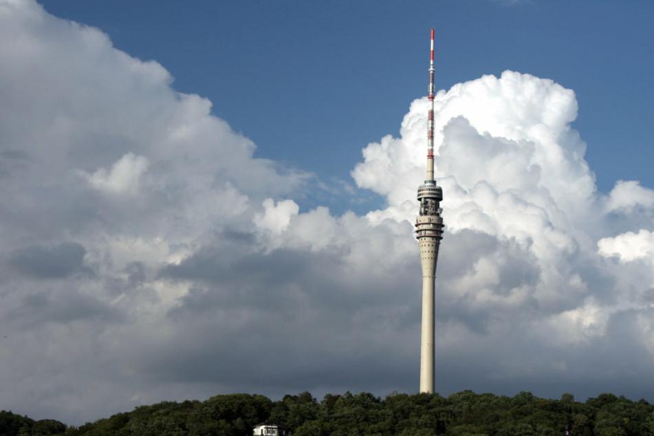 Dunkle Wolken ziehen auf. Die Revitalisierung des Fernsehturmes wurde gestoppt.