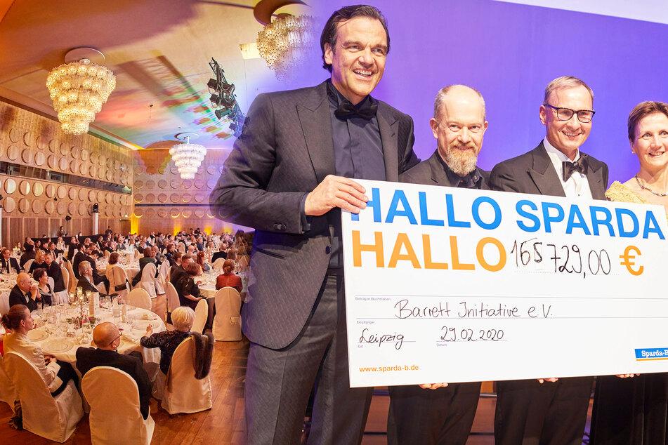Leipzig: Spendenrekord: René Kindermann quatschte Gala-Gästen 165.729 Euro aus der Tasche!