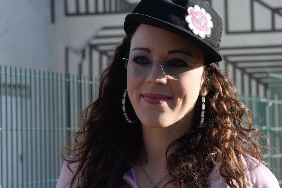 Jasmin Wagner zeigt ihre Talent am Kart-Steuer (Archivbild).