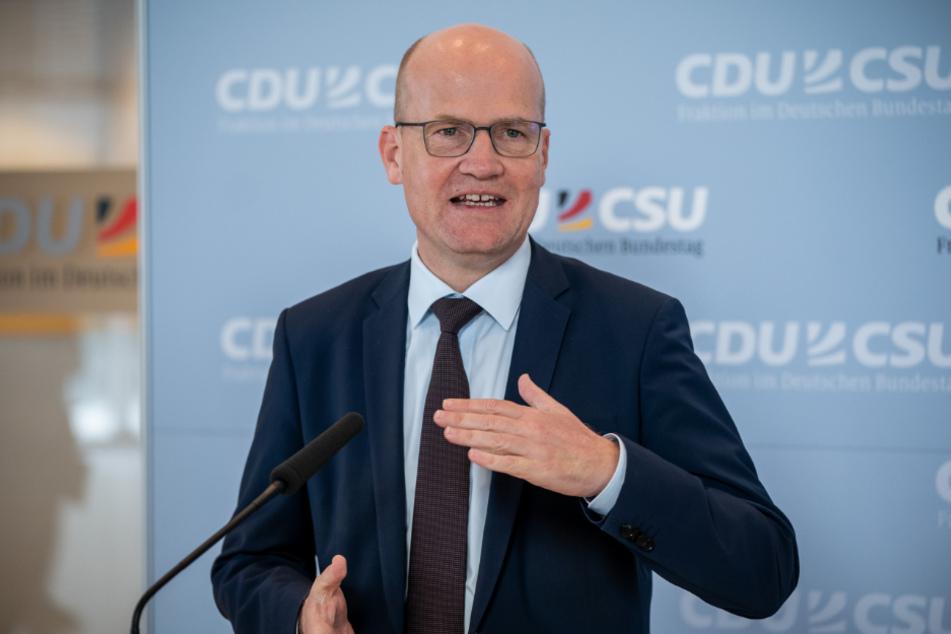 Ralph Brinkhaus (51, CDU), Vorsitzender der CDU/CSU-Bundestagsfraktion.