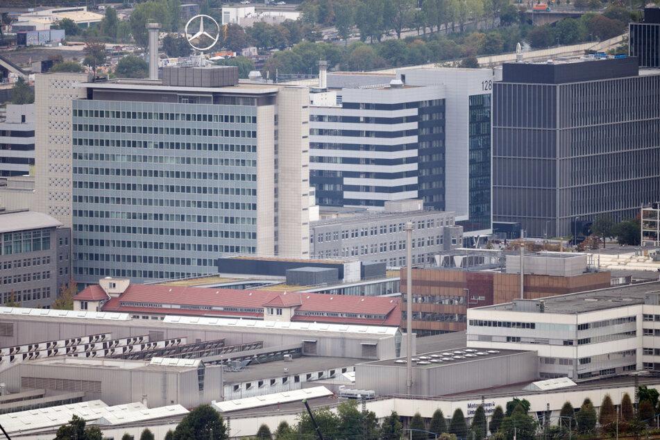 Das Mercedes-Werk Untertürkheim.