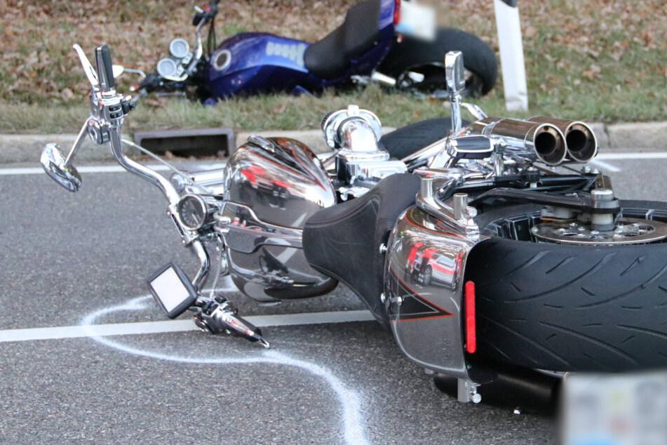 Biker stirbt nach Horror-Crash noch an der Unfallstelle
