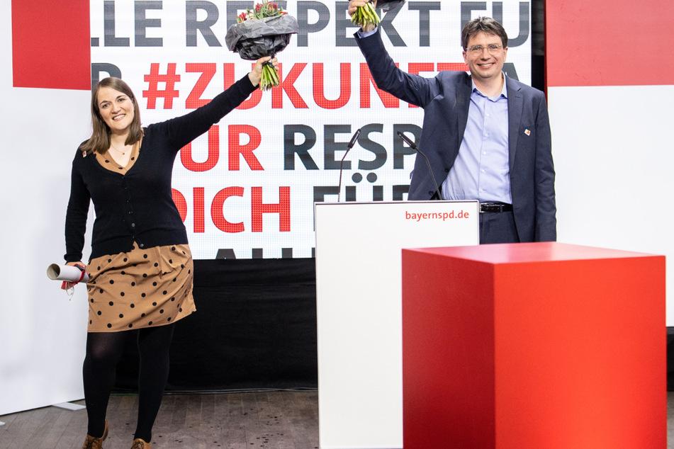 Ronja Endres (34) und Florian von Brunn (51) heißen die beiden neuen Landesvorsitzenden der bayerischen Sozialdemokraten.