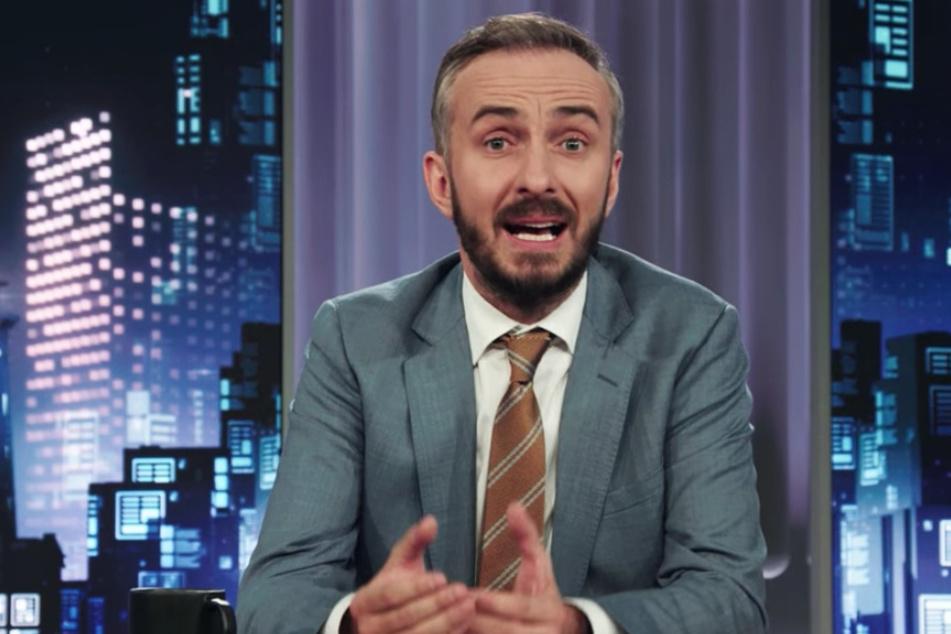 """Satiriker Jan Böhmermann (39) in der neuesten Ausgabe des """"ZDF Magazin Royale""""."""