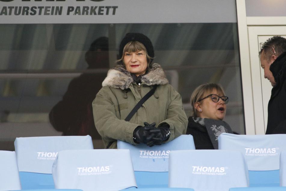 Romy Polster dankte auch Oberbürgermeisterin Barbara Ludwig für ihr Engagement.