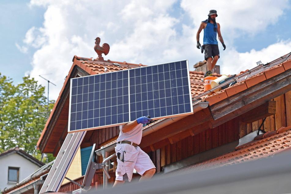 Solarstrom auf allen Dächern: Grünen-Stadtrat Bernhard Herrmann (55) wirbt für neue Konzepte zur Energiewende.