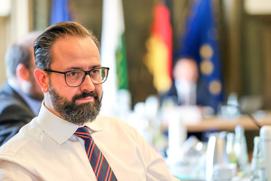 Laut Sachsens Wissenschaftsminister Sebastian Gemkow (42, CDU) ist nur mit einer möglichst hohen Immunisierung an Hochschulen eine weitgehende Rückkehr zur Normalität denkbar. (Archivbild)