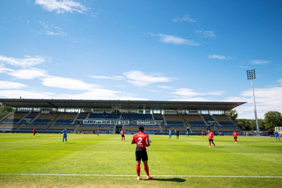 Zum Regionalliga-Auftakt sollen wieder Zuschauer auf der Tribüne sitzen.
