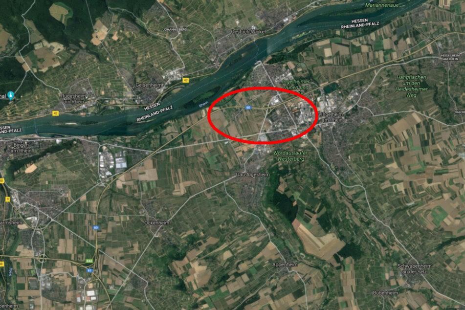 De Unfall ereignete sich auf der A60 in Höhe der Anschluss-Stelle Ingelheim-West.