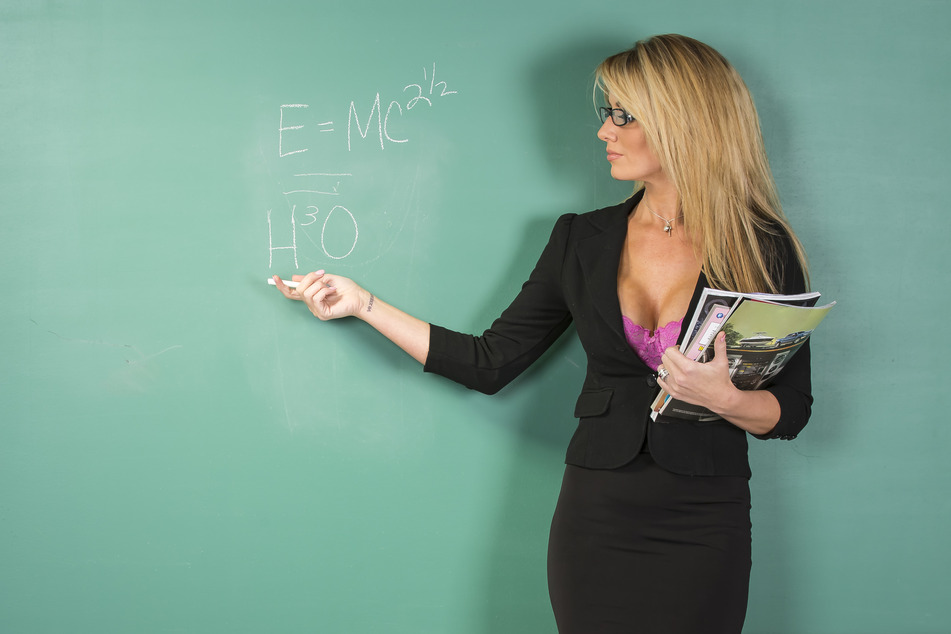 The sexy teacher image reportedly stirs the imagination of sexually-charged teenage boys (stock image).