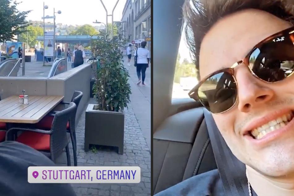Tom Gregory (24) beantwortet Fragen auf Instagram. (Collage)