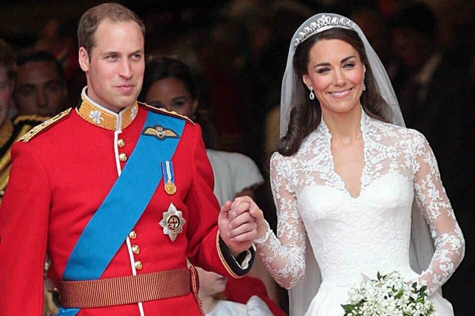 Am 29. April 2011 läuteten bei dem royalen Paar Prinz William (38) und Herzogin Kate (39) die Hochzeitsglocken. (Archivbild)