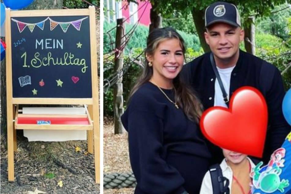 """Sarah Engels (28) und Pietro Lombardi (29) sind ein """"super Team"""": Beide Elternteile kümmern sich um den gemeinsamen Sohn Alessio (6) und halten zusammen."""