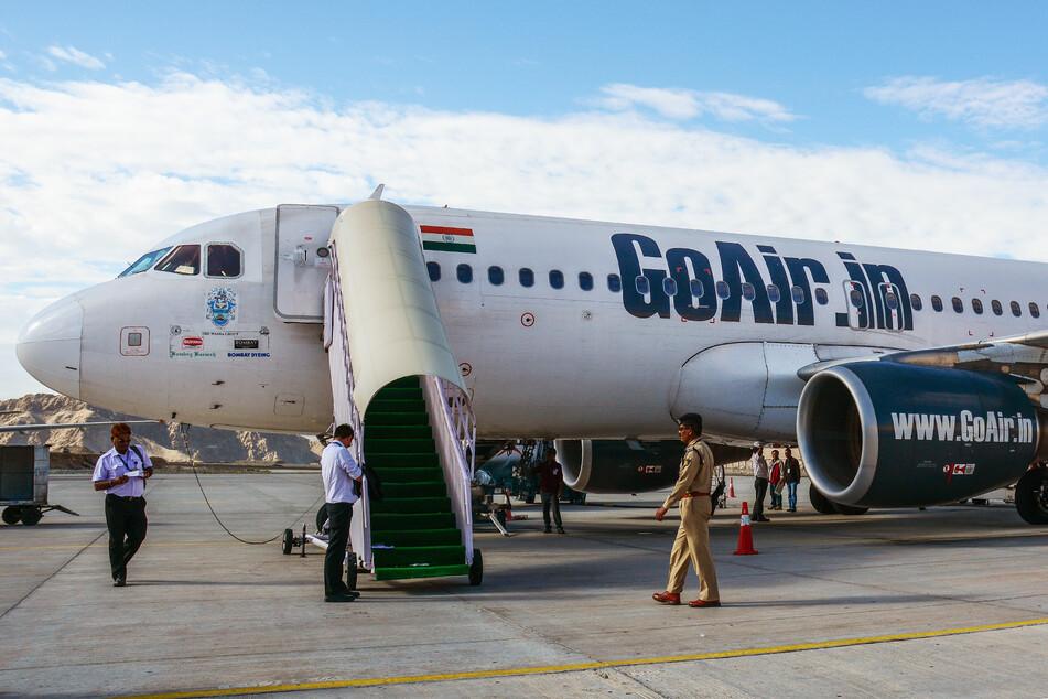 Das Gold wurde mit einem GoAir-Flug nach Indien geschmuggelt.