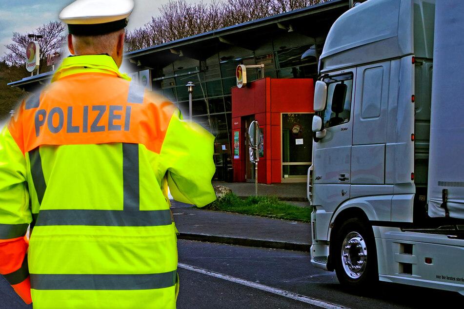 Polizei stoppt Lkw auf der A3: Ein Blick in die Ladefläche offenbart Erschreckendes
