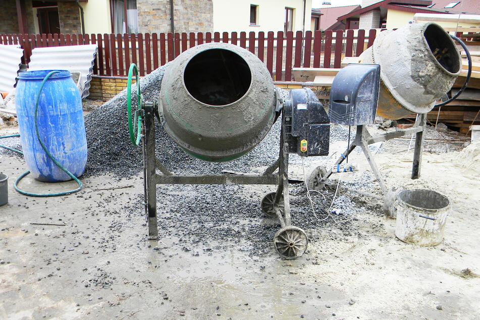 Handwerker machtlos: Ausgerechnet Betonmischer gibt es jetzt nicht mehr in Österreich. (Symbolbild)