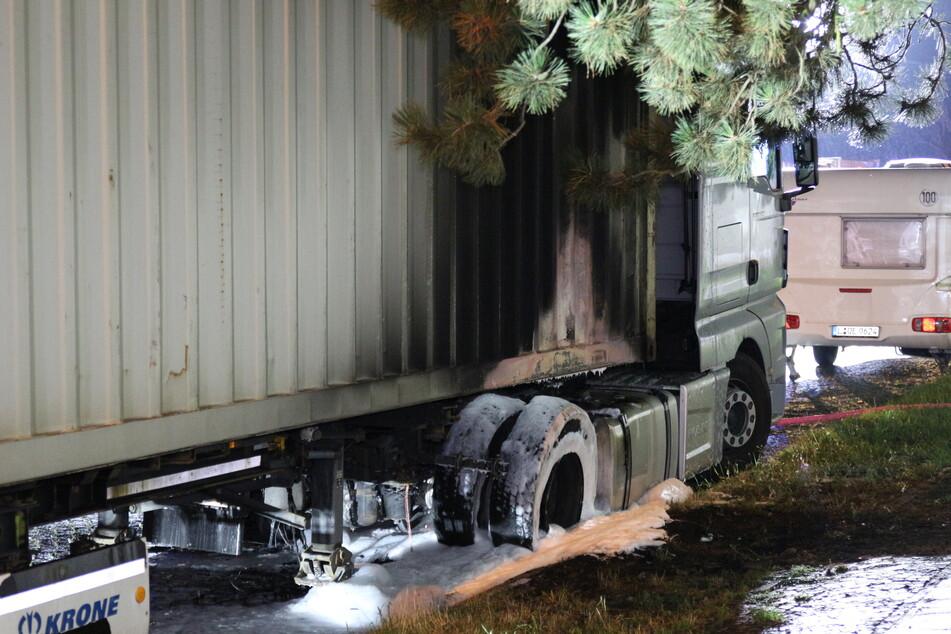 Die Feuerwehr konnte glücklicherweise schlimmeres verhindern.