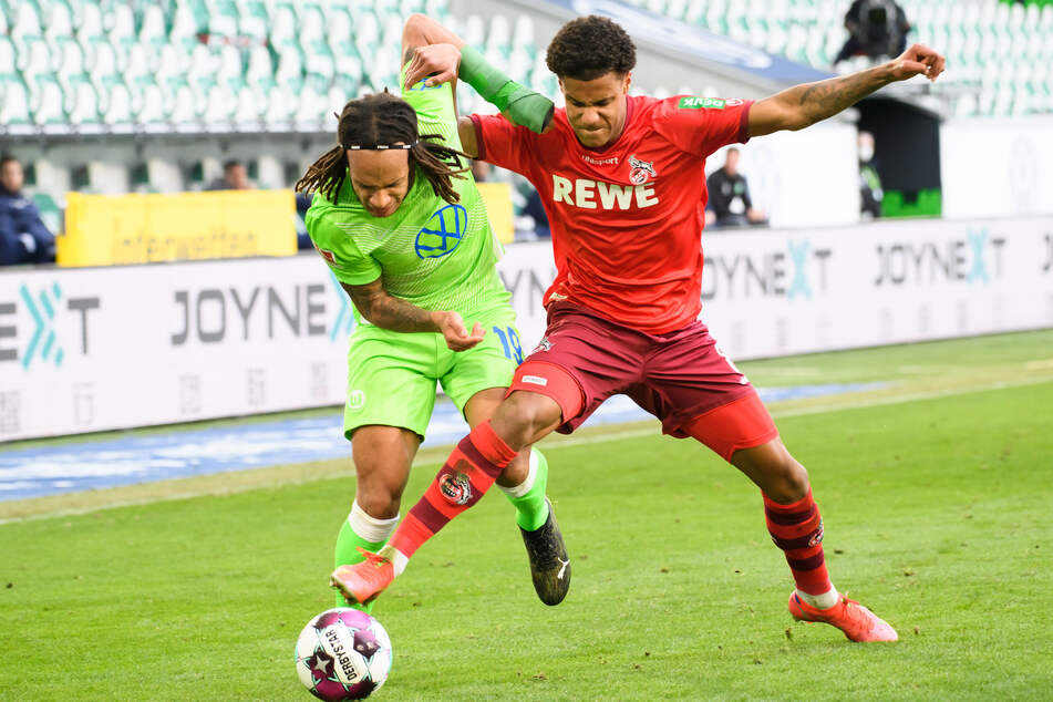 Kölns Ismail Jakobs (r, 21) steht offenbar kurz vor dem Wechsel zu AS Monaco.