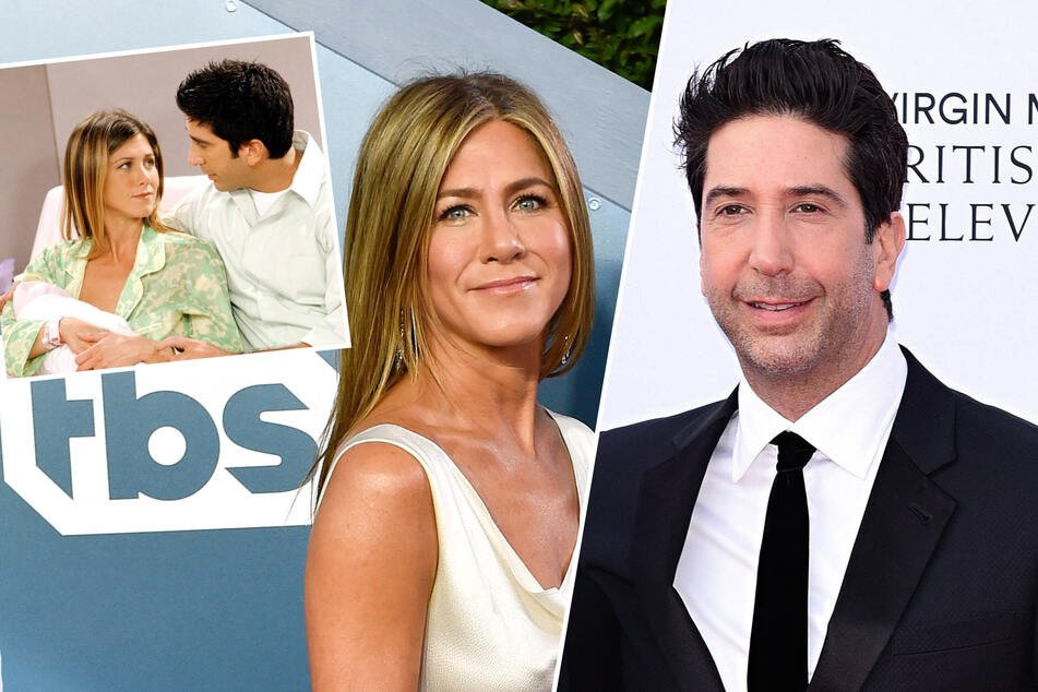 Jennifer Aniston and David Schwimmer blow up the internet with romance rumor!
