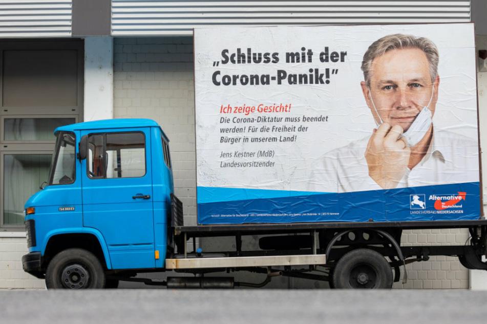 """AfD will neue Wähler locken: Kampagne gegen """"Corona-Diktatur"""" gestartet"""