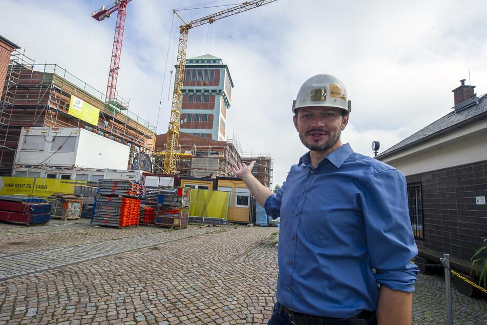 Museumsleiter Jan Färber freut sich darauf, dass bald weitere Exponate ins neue Museum einziehen.