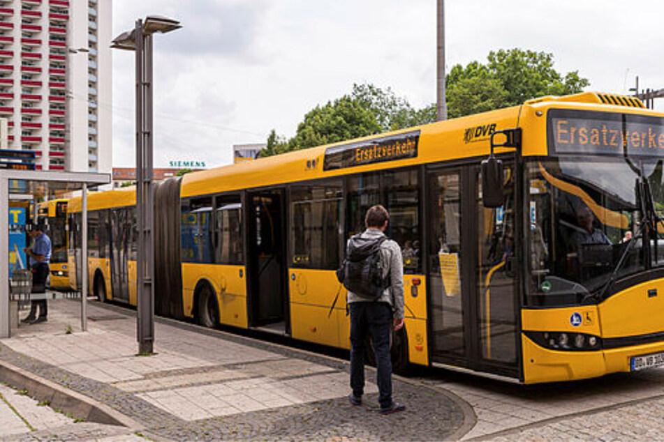 Nanu, fahren DVB-Busse jetzt auch in Leipzig?