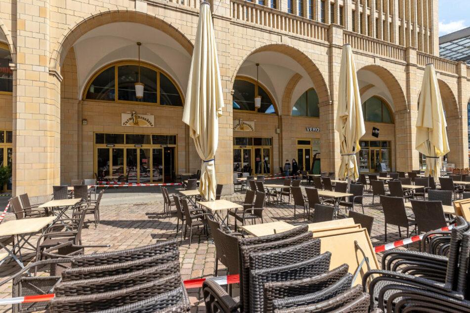 Auf der Terrasse des Turm-Brauhauses wird es 180 Sitzplätze geben.