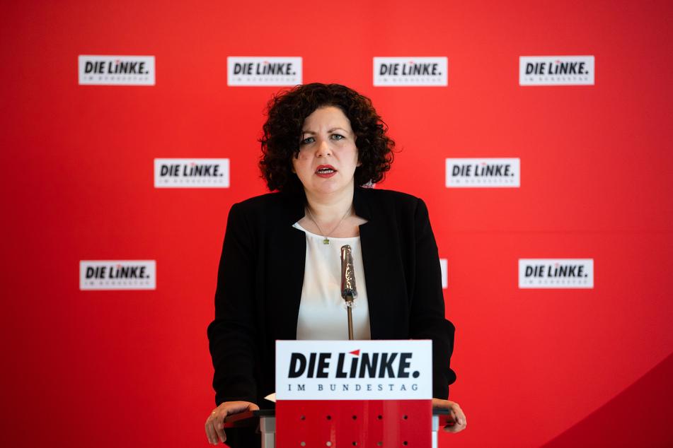 Amira Mohamed Ali, Vorsitzende der Bundestagsfraktion der Partei Die Linke.