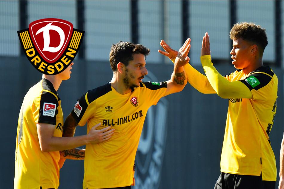 Dynamo tankt im Testspiel gegen Viktoria Berlin Selbstvertrauen und feiert klaren Sieg!