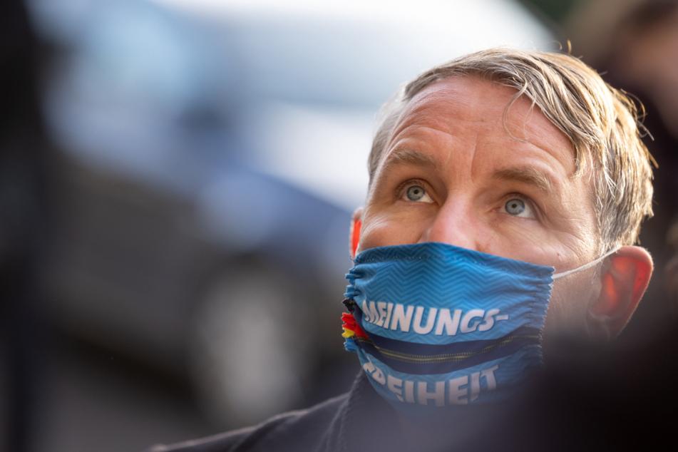 Björn Höcke (48) ist Fraktionsvorsitzender der AfD im Thüringer Landtag.