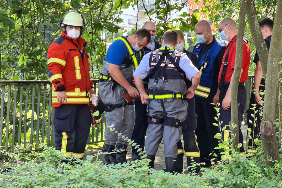 Bauhof-Mitarbeiter finden Toten in Alb: Leichnam identifiziert