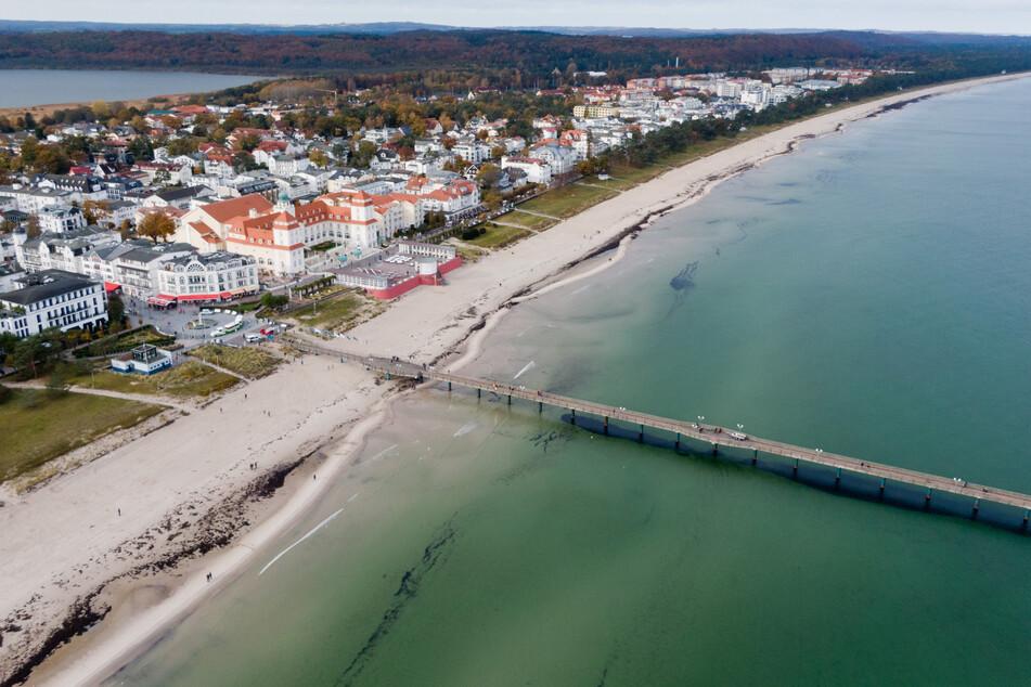 Das Ostseebad Binz auf Rügen. Im Sommer ist die beliebte Urlaubsregion noch einfacher zu erreichen!