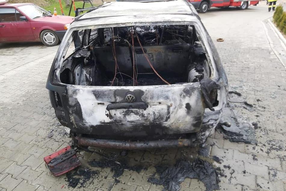 Chemnitz: Nach Brand in Werkstatt: 34-jähriger Auto-Bastler im Krankenhaus