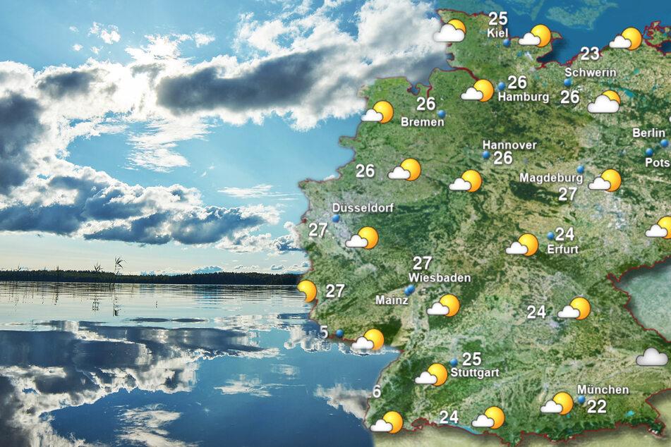 Sonne-Regen-Mix: So wird das Wetter am Wochenende