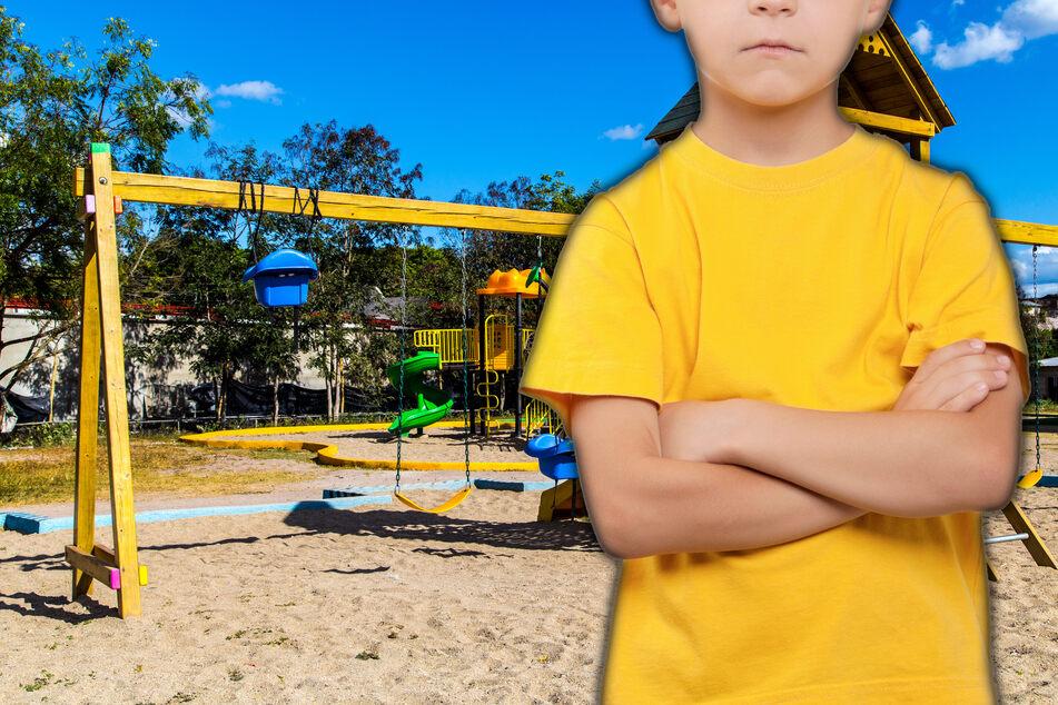 Das Ziel der fünf- und neunjährigen Buben war der nahegelegene Spielplatz. (Symbolfoto)